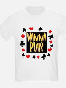 Wanna Play? Ash Grey T-Shirt