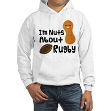 Nuts About Football Hoodie