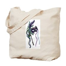 Decorative Mardi Gras Mask Tote Bag
