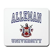 ALLEMAN University Mousepad