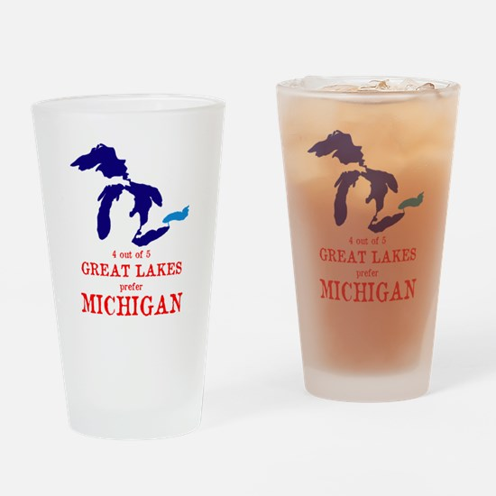 4 out of 5 Great Lakes Drinking Glass