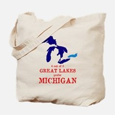 4 out of 5 Great Lakes Tote Bag