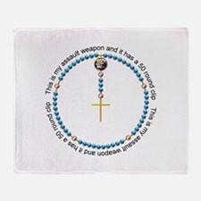 Rosary Throw Blanket