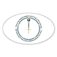 Rosary Decal
