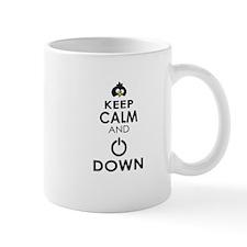 Penguin Keep Calm and Power Down Mugs