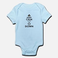 Penguin Keep Calm and Power Down Body Suit