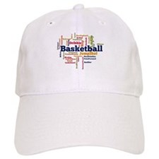 Basketball Word Cloud Baseball Baseball Cap
