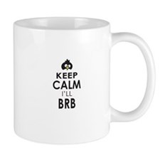 Penguin Keep Calm and BRB Mugs
