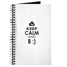 Penguin Keep Calm and Be Happy Journal