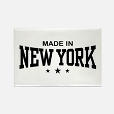 Made In New York Rectangle Magnet