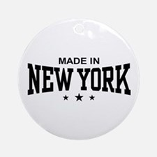Made In New York Ornament (Round)