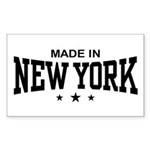 Made In New York Rectangle Sticker