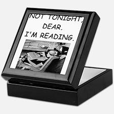 book lover Keepsake Box