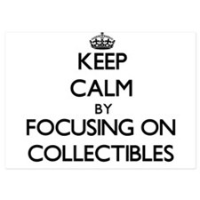 Keep Calm by focusing on Collectibles Invitations