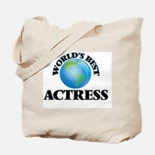 World's Best Actress Tote Bag