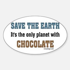 Save the earth! It's the only Decal (Rec Decal