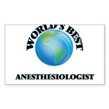 World's Best Anesthesiologist Decal