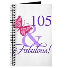 Fabulous 105th Birthday Journal