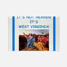 west virginia Magnets