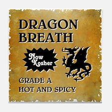 DRAGON BREATH Tile Coaster