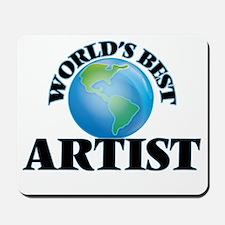 World's Best Artist Mousepad