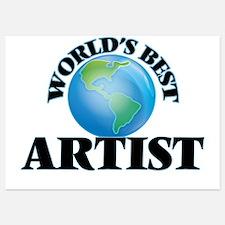 World's Best Artist Invitations