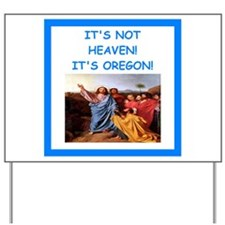 oregon Yard Sign