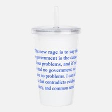 The new rage is to say that the government is the
