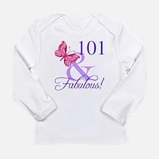 Fabulous 101st Birthday Long Sleeve T-Shirt