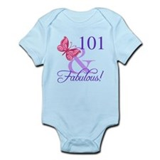 Fabulous 101st Birthday Body Suit