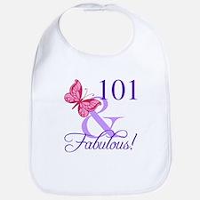 Fabulous 101st Birthday Bib
