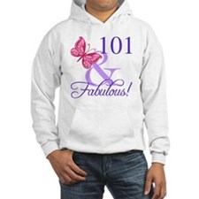 Fabulous 101st Birthday Hoodie