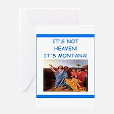 montana Greeting Cards