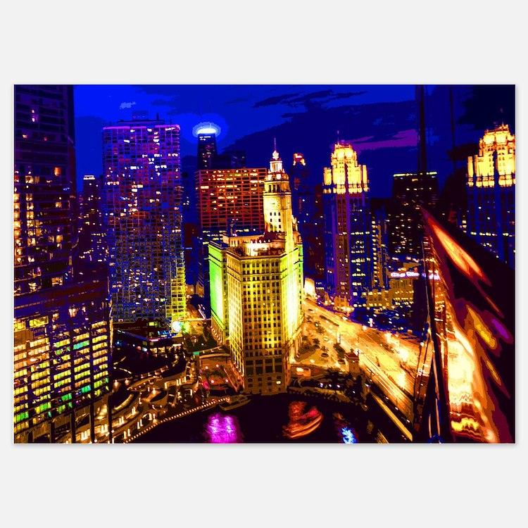 Chicago 002 Invitations