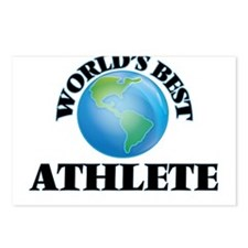 World's Best Athlete Postcards (Package of 8)