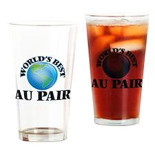World's Best Au Pair Drinking Glass