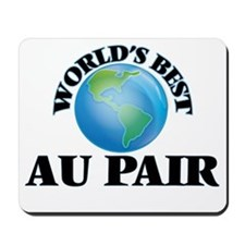 World's Best Au Pair Mousepad