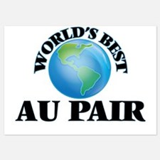 World's Best Au Pair Invitations