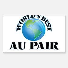 World's Best Au Pair Decal