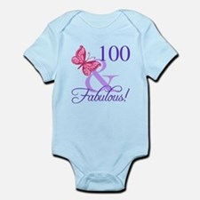 Fabulous 100th Birthday Body Suit