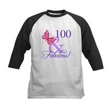 Fabulous 100th Birthday Baseball Jersey
