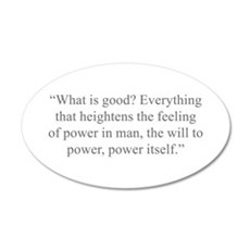 What is good Everything that heightens the feeling