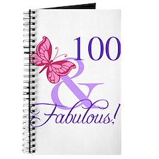 Fabulous 100th Birthday Journal
