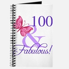 Fabulous 100th Birthday Journal