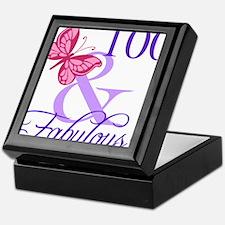Fabulous 100th Birthday Keepsake Box