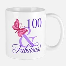Fabulous 100th Birthday Mugs