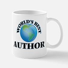 World's Best Author Mugs