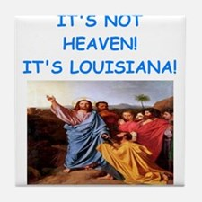 louisiana Tile Coaster