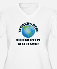 World's Best Automotive Mechanic Plus Size T-Shirt
