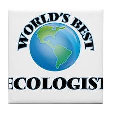 World's Best Ecologist Tile Coaster